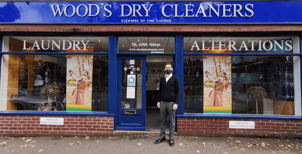 Wood's Dry Cleaners to remain open during Lockdown