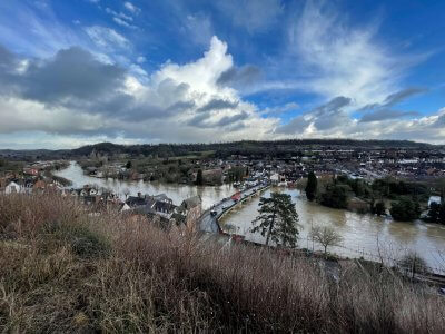 Bridgnorth floods 2021