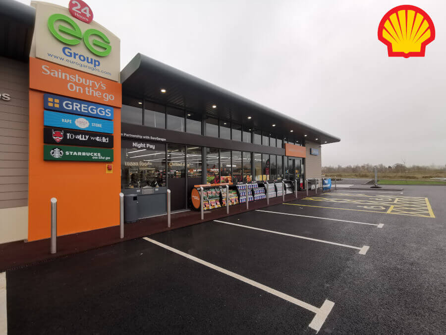 New Shell Petrol Station in Bridgnorth