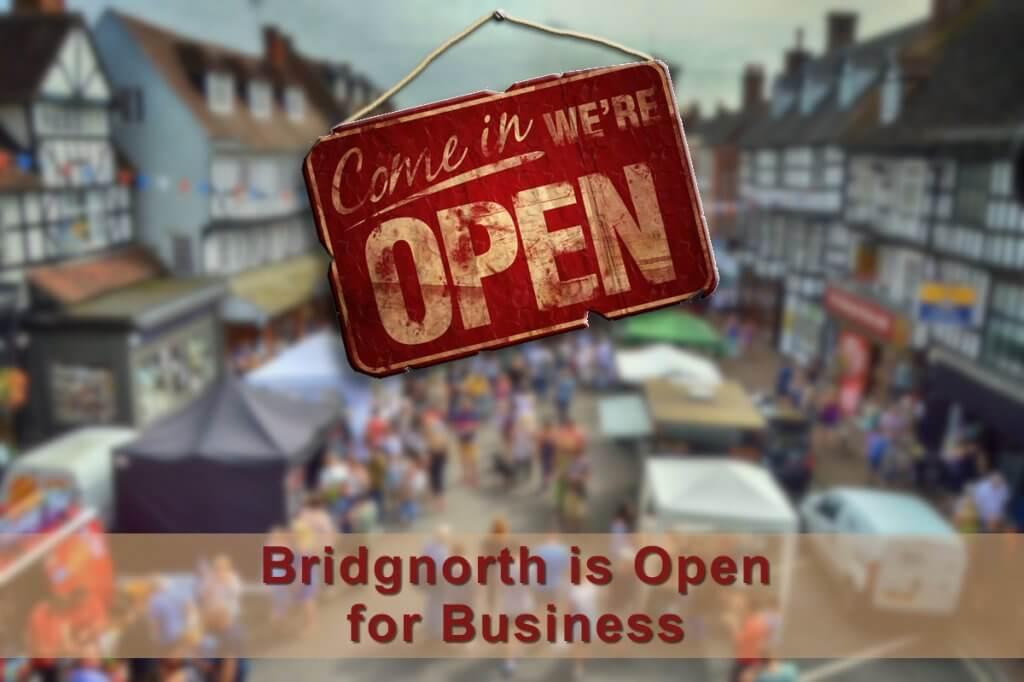 Bridgnorth easing out of lockdown